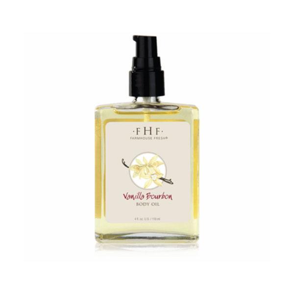 Vanilla Bourbon Body Oil - Farm House Fresh at La Creme Penticton
