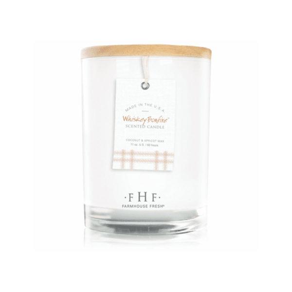 Farmhouse Fresh Candle - Whiskey Bonfire