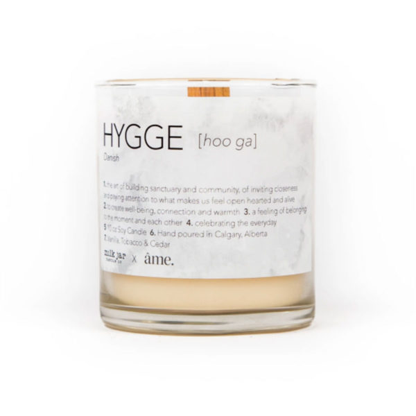 Hygge - Milk Jar Candles at La Creme Penticton