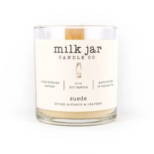 Suede - Milk Jar Candles at La Creme Penticton
