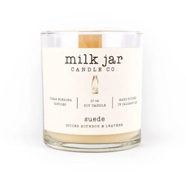 Suede - Milk Jar Candles at La Creme Penticton