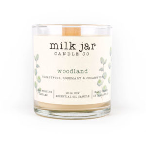 Woodland - Milk Jar Candles at La Creme Penticton