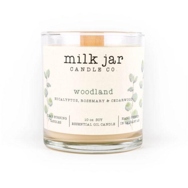 Woodland - Milk Jar Candles at La Creme Penticton